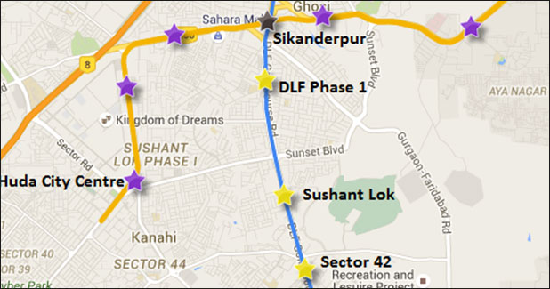Second phase of Gurgaon Rapid Metro successfully completed