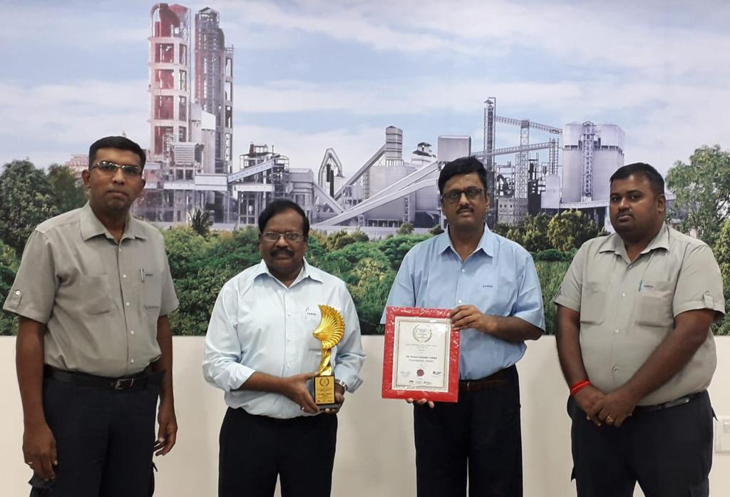 Chief Minister of Odisha Inaugurates Ramco's cement grinding unit in the state on 8 October 2020.