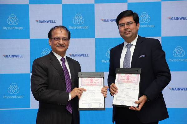 thyssenkrupp inks pact with Gainwell to strengthen its presence in Indian aggregates market