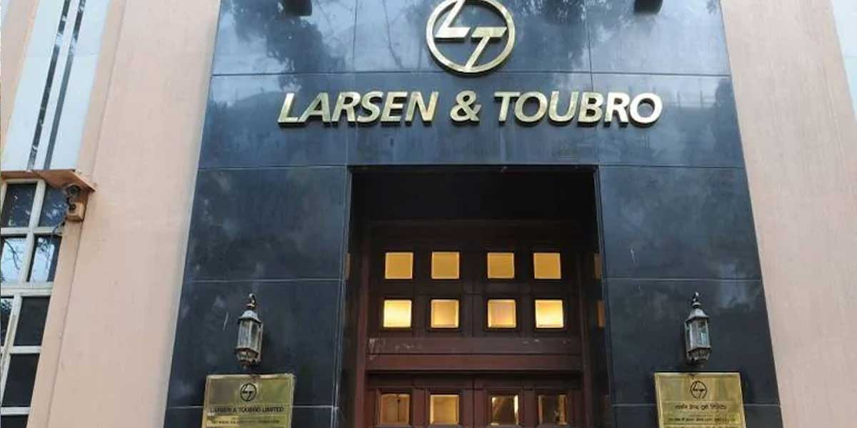 L&T for the first time in Q2FY21 caught up with the ongoing downtown in infra and industrial sector.
