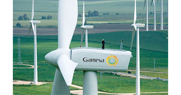 Gamesa wins 40 MW wind power project