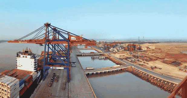 Gujarat Pipavav outperforms market