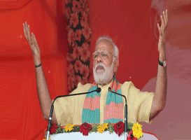 Prime Minister Modi launches projects worth Rs 15.50 billion in Odisha