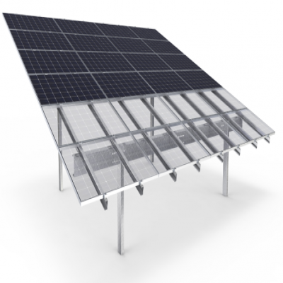 Aerocompact launches compact PV mounting systems for solar parks