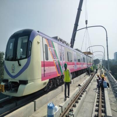 Mumbai Metro with 10 lines being built to serve Mumbai