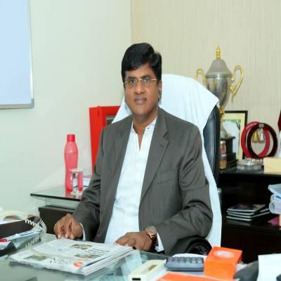 G Radhakrishna, CMD, ,RKEC Projects,