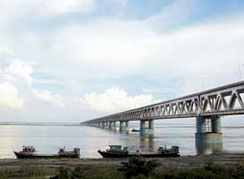 All about India's Longest Rail-Road Bridge
