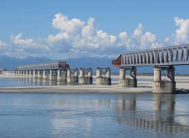 Supply chain management at Bogibeel Bridge