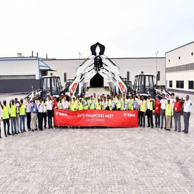 Doosan Bobcat India hosts Grand Financiers Meet at its Chennai plant