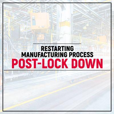 Sanitation, communication key to restart manufacturing
