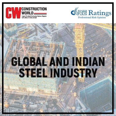 Global and Indian steel industry and its role in the development of economies