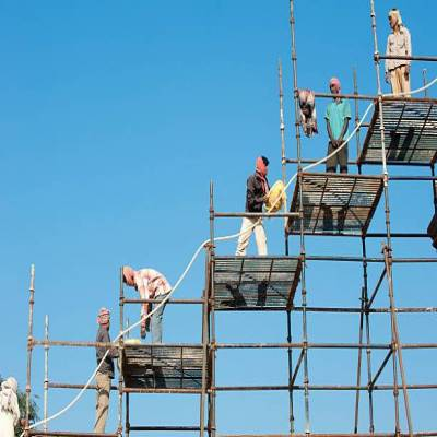 Construction projects in Delhi struggle to get workers back