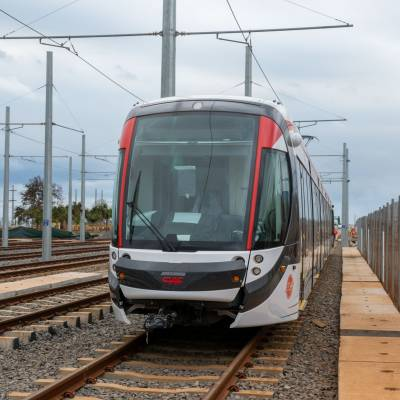 Phase-1 of L&T-built Light Rail System (Metro Express) in Mauritius inaugurated