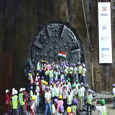 HCC completes first tunnel for Mumbai Metro-III project