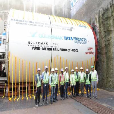 Tata Projects commences tunnelling work on Pune Metro