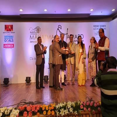 REC receives Mahatma Award for CSR