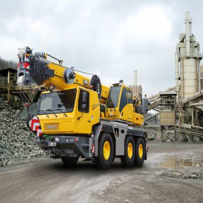 Demand for all-terrain cranes doubled in 2018