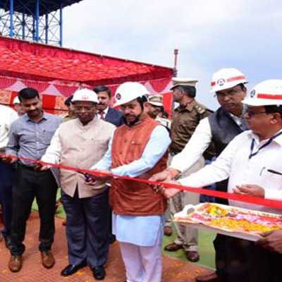 Pralhad Joshi lays foundation stone for crusher and conveyor system in Odisha