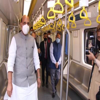 MoD unveils first indigenous driverless metro car