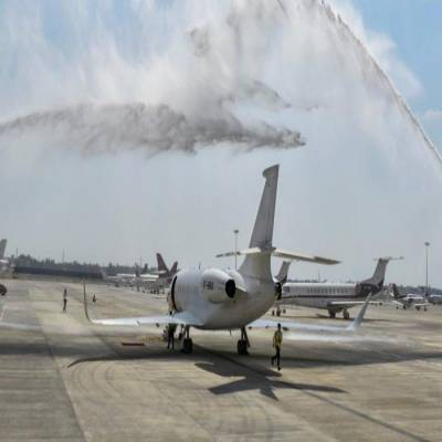 India's first private jet terminal inaugurated