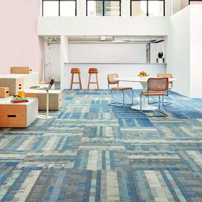 Carpet Tiles that reflect modern campus