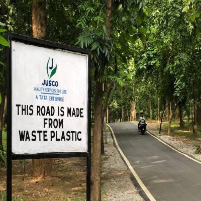 Numerous advantages of building plastic roads