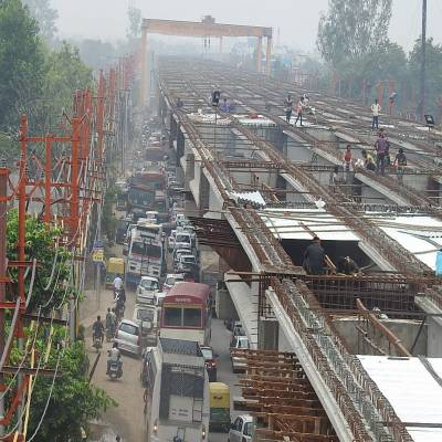 Construction challenges of Delhi Meerut Expressway Package 3