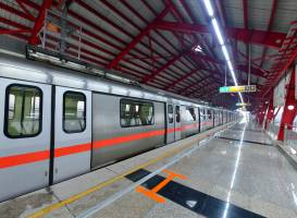 DMRC inaugurates its first line extension