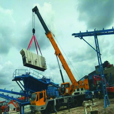 Pick-'n'-carry: India's highest selling crane