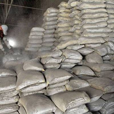 Cement prices in August fell by 3% to Rs 328 per 50 kg