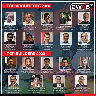 India's Top Architects and India's Top Builders