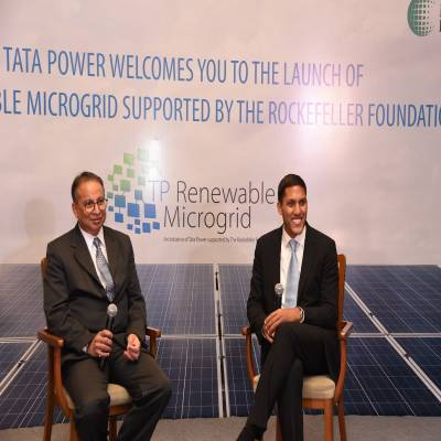 Tata Power, Rockefeller Foundation boost renewable microgrid electricity in India
