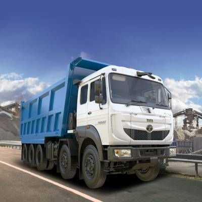 India's Largest Tipper Truck