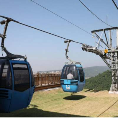 Jammu Ropeway Project: Divisional commissioner inspects project