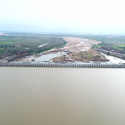 Annaram creates world first in barrage construction