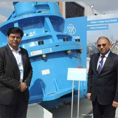 Thyssenkrupp Industries India, launched the RBC 4000 Cone Crusher at Excon 2019. Our aim is to have equipment that creates greater value for our customers.