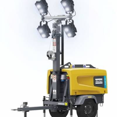 Atlas Copco launches HiLight V5+ LED light towers