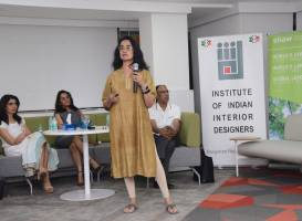 IIID Bangalore's Pot Pourrievent at Shaw Contract's Experience Centre