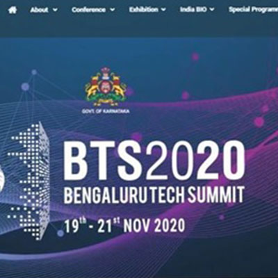 KITS organized bengaluru tech Summit 2020 on 19-21st November 2020