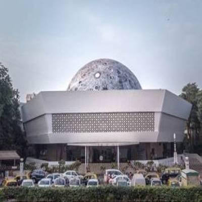Asian Paints & Sideways with St+art create a Lunar Dome at Nehru Planetarium